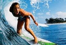 Girls on boards