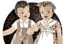Cloth Doll Patterns - Black Americana