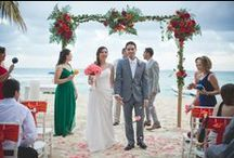Weddings at Playa Palms / Wedding Ceremonies on Playa Palms Beach Front! / by Playa Palms