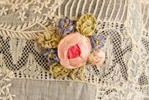 {Sewing: Lace & Embellishments} / Examples of Beautiful Lace, Tutorials, Garmets, and Suppliers