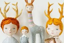 {Craft: Dolls: Cloth Doll Inspiration}