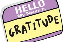 Thankful Thursday / Gratitude goes along way in the pursuit of happiness and well-being.