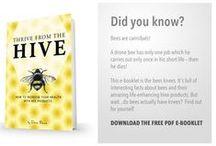 THRIVE FROM THE HIVE WITH NATUREBEE POTENTIATED BEE POLLEN / The remarkable health benefits of the products from the beehive have been known from centuries. Let's get passionate about pollen.