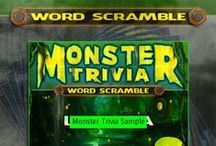 Word Scrambles: Halloween Trivia Vol.2 / http://monstertrivia.net/product/word-scramble-vol-2-halloween/