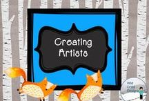 Creating artists with Wild Child Designs / Creative thinking for students...