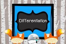 Differentiation with Wild Child Designs / Ideas for effective differentiation