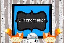 Differentiation with Wild Child Designs / Ideas for effective differentiation