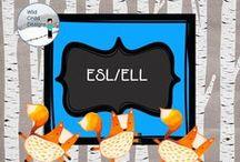 ELL/ESL with Wild Child Designs / Materials that support ELLs