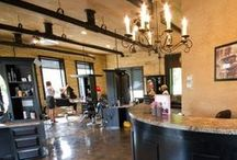 The Salon / Water Works Salon and Academy. Located in Mount Pleasant, Michigan.