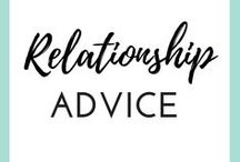 """RELATIONSHIP TIPS / In a new, long-distance or long-term relationship?  This board is your lifeboat filled with dating advice and dating tips for women, relationship guidance, and love coaching for all the love birds out there who found """"their one"""" and looking to keep the romance in the air!"""