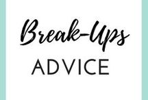 BREAKUP ADVICE / Going through a bad breakup and looking for tips and tricks to get over it and get back to your awesome self? Here are some love life tips and dating advice that can help you get over any breakup and heal that broken heart.