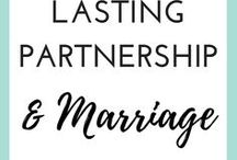 LASTING MARRIAGE & PARTNERSHIP / Marriage tips for married couples, lasting partnership advice and more dating tips for women who are looking to improve their love lifes. Here's to forever.
