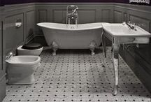 Beautiful Baths / Daydream about these big, beautiful bathrooms. / by Chameleon Power Inc.