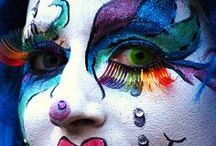 Painted Faces  / by R๏รเє E๔ฬคг๔ร