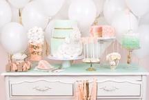 dessert or cake tables