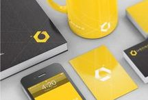 BRANDING & CI / Board full of branding and corporate identity ideas