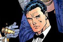 Superheroes Unmasked / Just a bunch of regular joes. Alter egos unite!