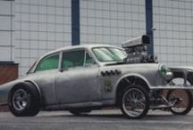 Rat Rods / Wild, old school Rat Rods from all over the world.