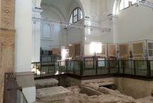 Monselice. Sanpaolo.Museo della Città. Interni / Uno sguardo all'interno, prima dell'allestimento