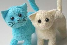 Bez bebekler--oyuncaklar