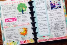 planner ideas & getting organized