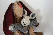 My Hand-crafted Rabbits / Look at the lovely rabbits I've crafted