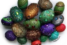 Craft: Dragon eggs