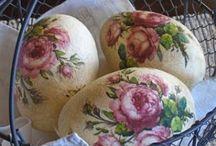 Craft: Brocante eggs