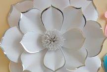 papier 2 kvety