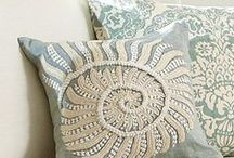 Pillow Accents / Beautiful Pillow Ideas / by Betty D