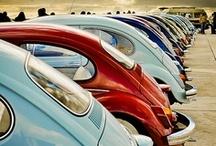 Vw Campervans & beetles / Campers & Bugs / by Karen Bluebell