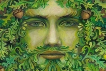 Goddess and the Green Man / by Karen Bluebell