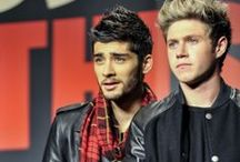 Zayn and Niall  / Ziall is our favorite BROmance!!!