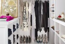 Dream Closets! / We love our clothes, shoes and accessories just about as much as we love the closets we put them in! <3