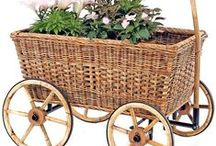 Baskets / I LOVE BASKETS, ALL SHAPES AND SIZES. I have included other items with a basket weave....love them all. / by Betty D