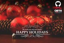 Happy Holidays from Orth Cleaners