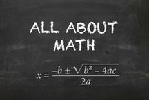 All About Math / Math lessons and ideas / by Education with DocRunning