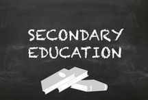 Secondary Education Collaborative Board / This is a collaborative board of some of the most creative teaching ideas for secondary education. This is the best of the best.  Please be discriminating and pin only materials that have exceeded expectations and worked amazingly with your students. No more than 1 pin a day of your own work and no repeat pins.  Re-pins encouraged! If you would like to join this group  follow the board and then email me at docrunning[at]kulikuli.net.