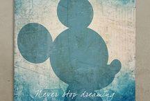 """Walt Disney  / """"Growing old is mandatory, growing up is optional."""" ~ Walt Disney"""