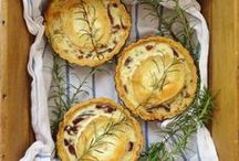 Savoury Pies and Tarts / Savoury pies, tarts and pastries