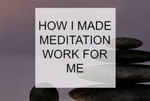 MEDITATION / meditation, mindset, mindfulness, happiness, positivity, calm, stress reduction