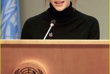 Emma Watson / True role model  British actress, Goodwill Ambassador for UN Women