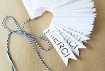 Papeterie / Ou comment réaliser de belles choses avec du papier !