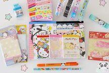 Kawaii Stationery / The cutest stationery @ www.kawaii-panda.com