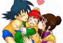 Goku & Milk / My dearest couple of...All times!