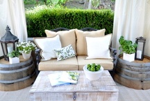 Outdoor living area ideas