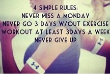 health & fitness / If I could get motivated! All I do is pin these fabulous work out ideas! I need to actually DO some of them!