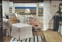 """Vintage 1912 Beach House"" / Featured on the 2013 Newport Harbor Home & Garden Tour. http://www.newportharborhometour.com/"