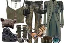 Steampunk/Post Apocalyptic / Steampunk and Post Apocalyptic stuff, mostly fashion.