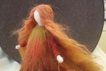 Waldorf - Fiber Arts / Natural fiber sculptures/puppets/dolls and materials to create, purchase or admire / by Nancy Walty